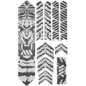 All Mountain Style Extra Kit di Protezione del Telaio 10 Pezzi, trasparente/grigio